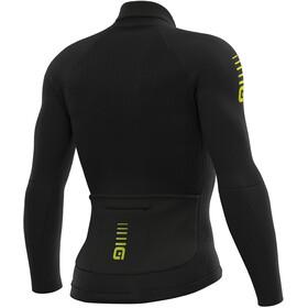 Alé Cycling Clima Protection 2.0 Warm Race Maglia Jersey A Maniche Lunghe Uomo, black
